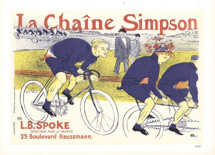 Henri de Toulouse-Lautrec - La Chaine Simpson - 1966