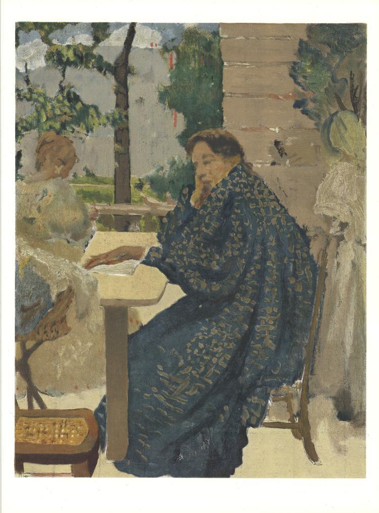 K.X. Roussel - Woman in Flecked Robe - 1966