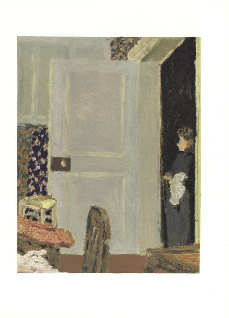 Edouard Vuillard - Open Door - 1966