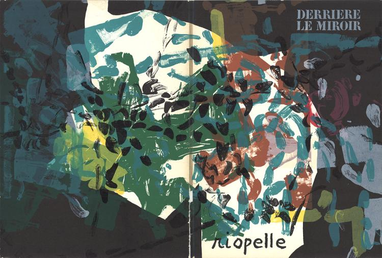 Jean-Paul Riopelle - DLM No. 171 Cover - 1968