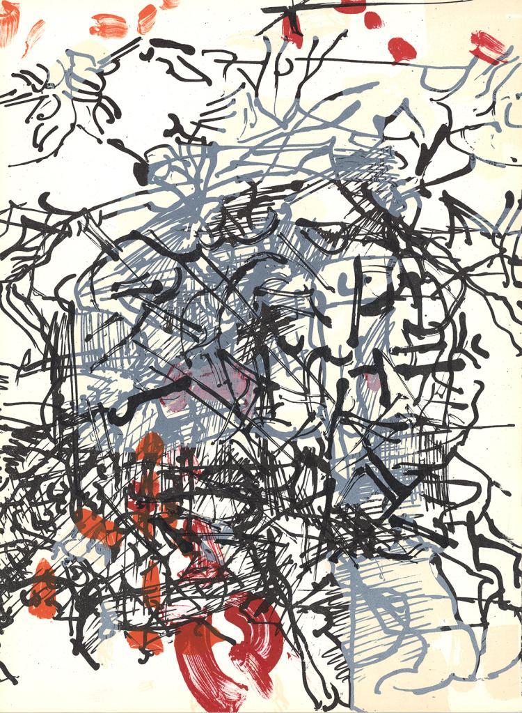 Jean-Paul Riopelle - Untitled - 1968