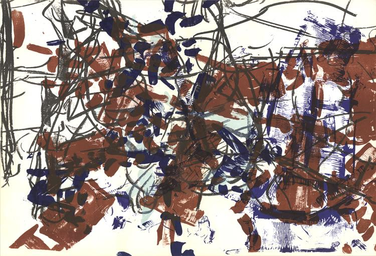 Jean-Paul Riopelle - Untitled - 1968