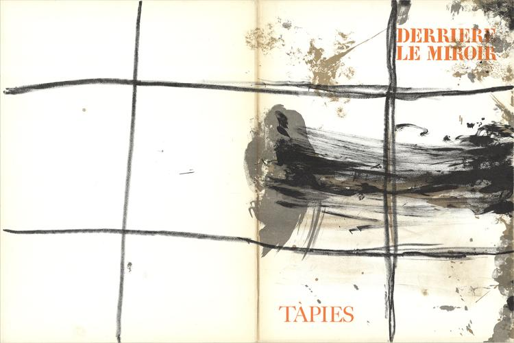 Antoni Tapies - DLM No. 168 Cover - 1967