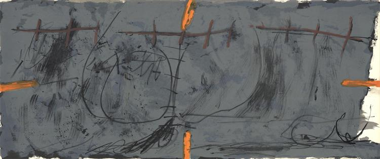 Antoni Tapies - Untitled - 1967