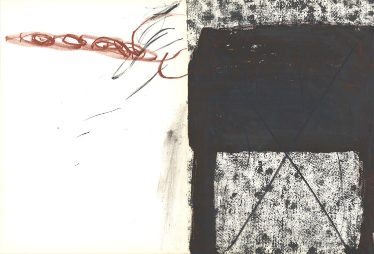 Antoni Tapies - Untitled - 1967