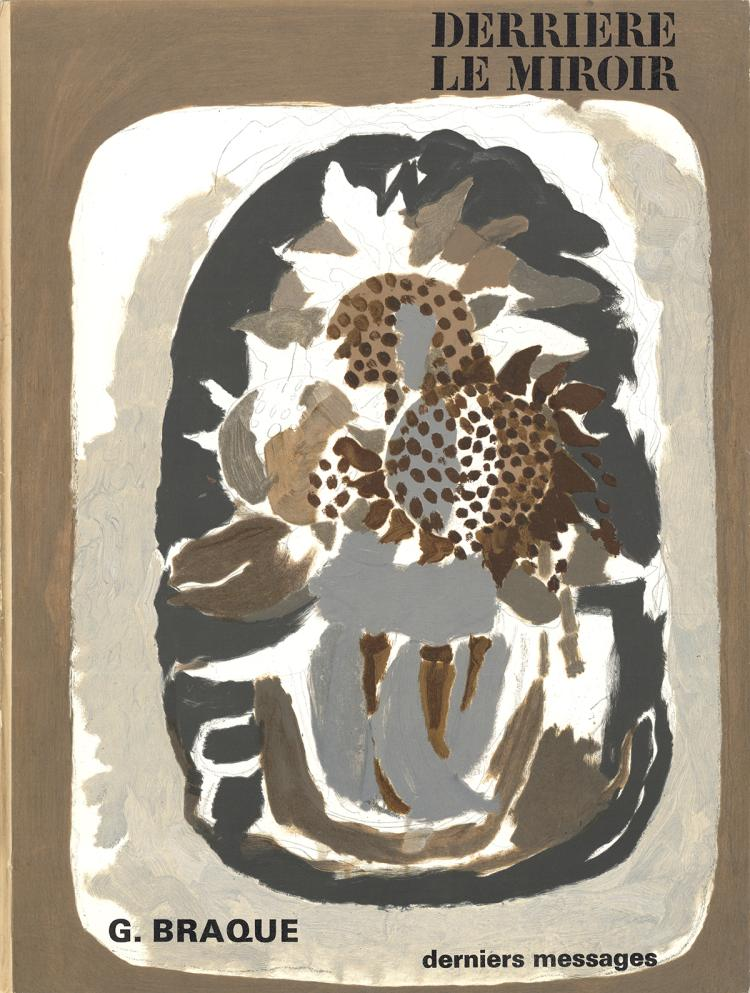 Georges Braque - DLM No. 166 Cover - 1967
