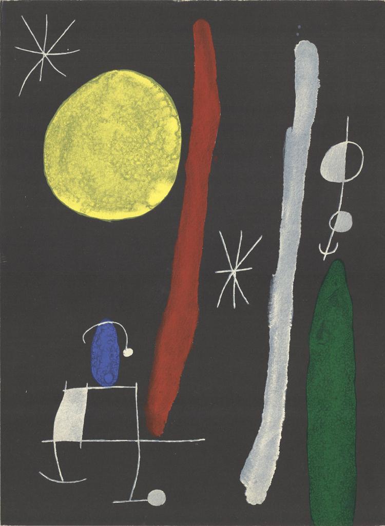 Joan Miro - DLM No. 164/165 - 1967