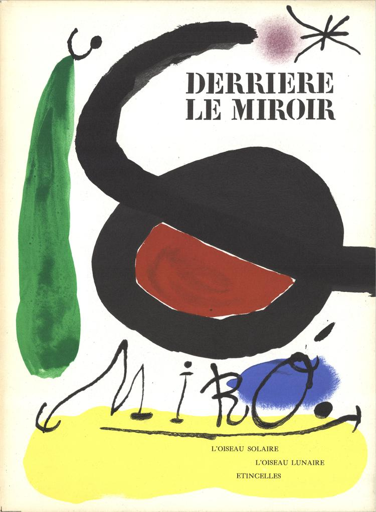 Joan Miro - DLM No. 164/165 Cover - 1967