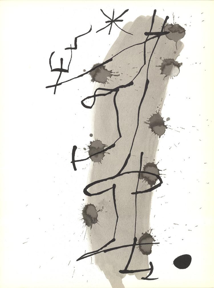 Joan Miro - Untitled - 1967