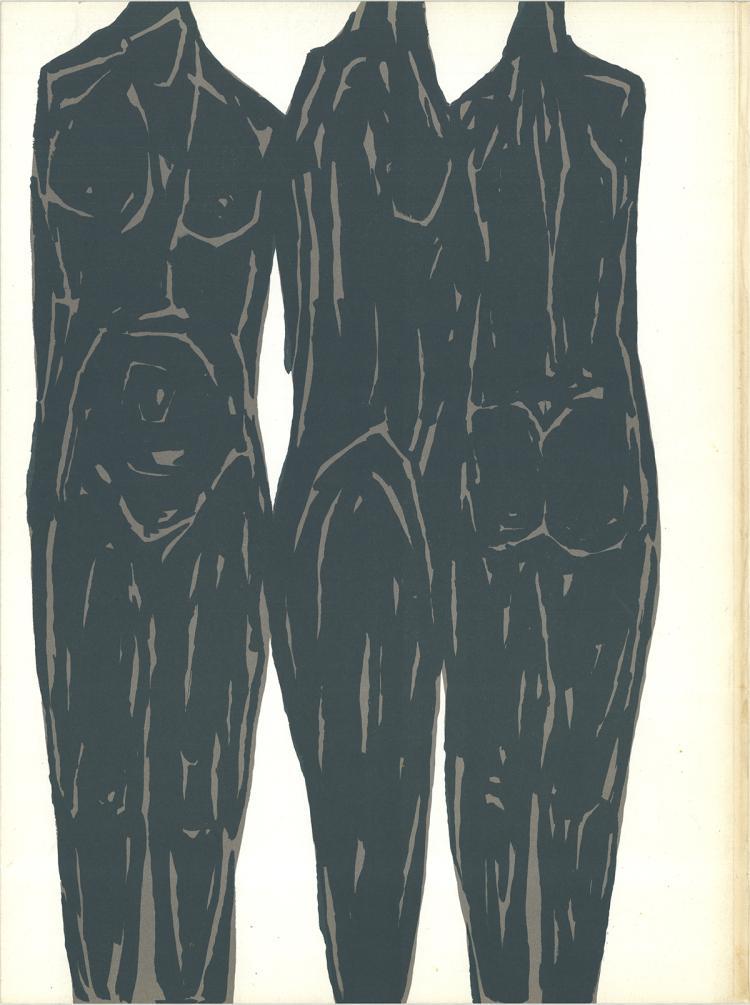 Rodolphe Raoul Ubac - Untitled - 1966