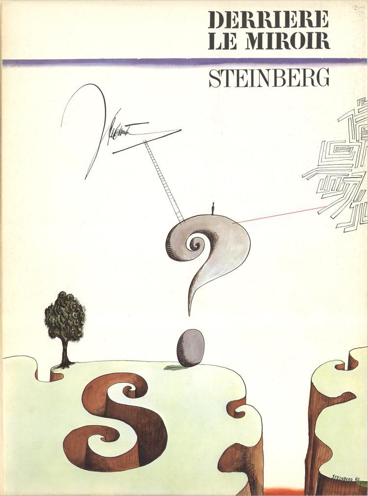 Saul Steinberg - DLM No. 157 Cover - 1966