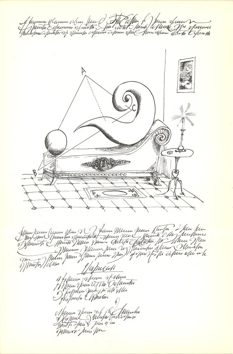 Saul Steinberg - Untitled - 1966