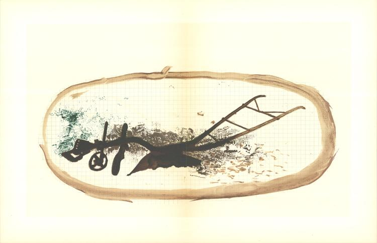 Georges Braque - La charrue - 1960