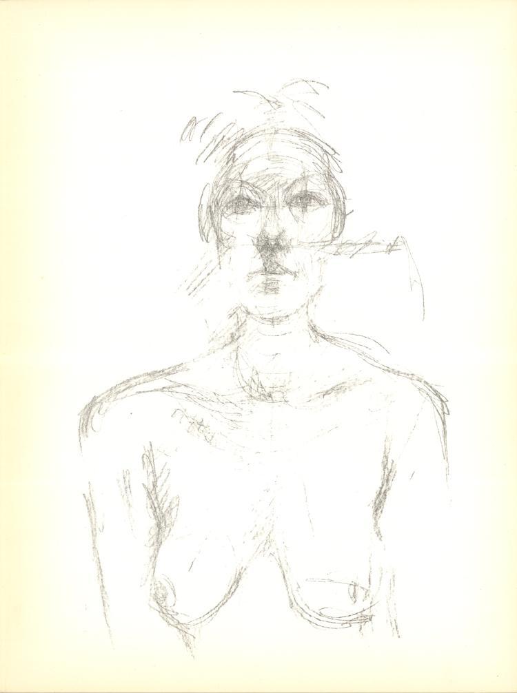 Alberto Giacometti - Peinture - 1960