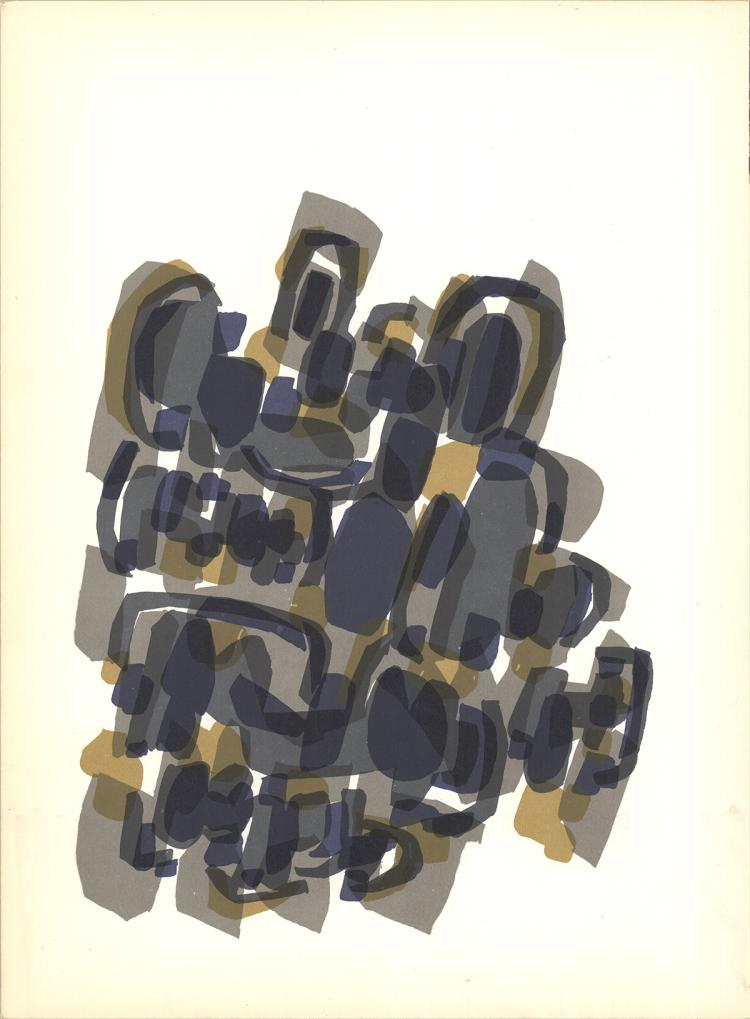 Rodolphe Raoul Ubac - Paysage d'Ete - 1960