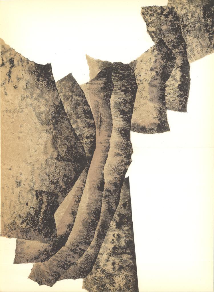Eduardo Chillida - Rumor de Limites IV - 1960
