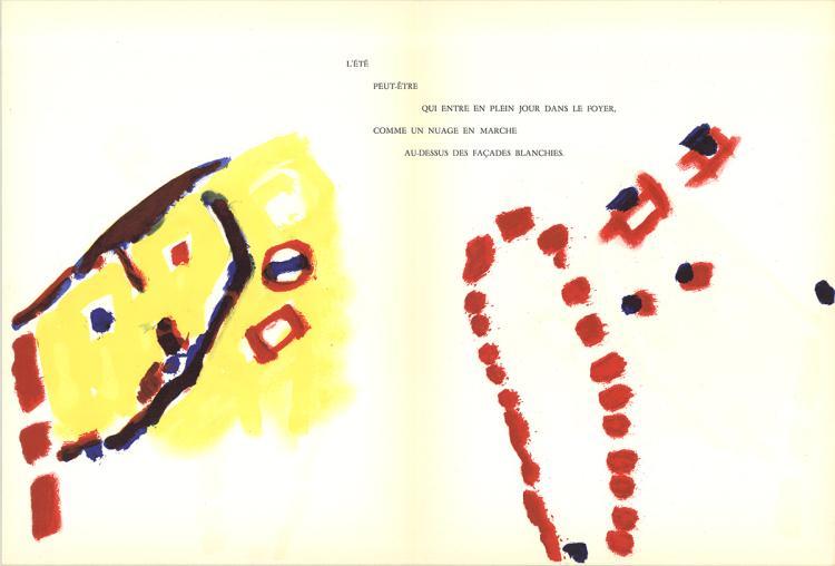 Pierre Tal-Coat - Peinture - 1960