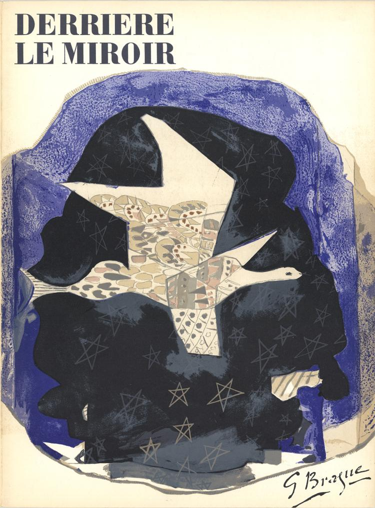 Georges Braque - DLM No. 115 Cover - 1959