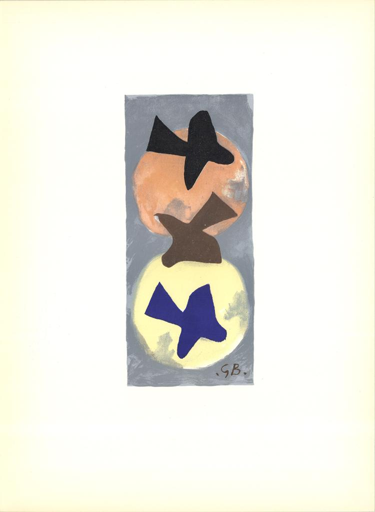 Georges Braque - Untitled - 1959
