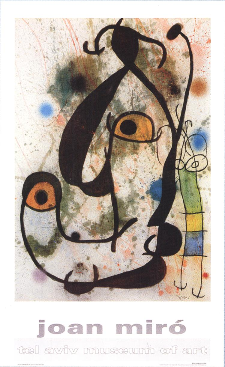 Joan Miro - Woman and Man