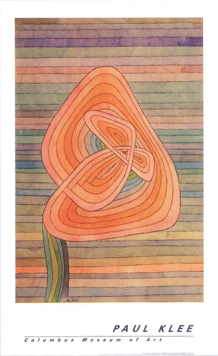 Paul Klee - Lonely Flower