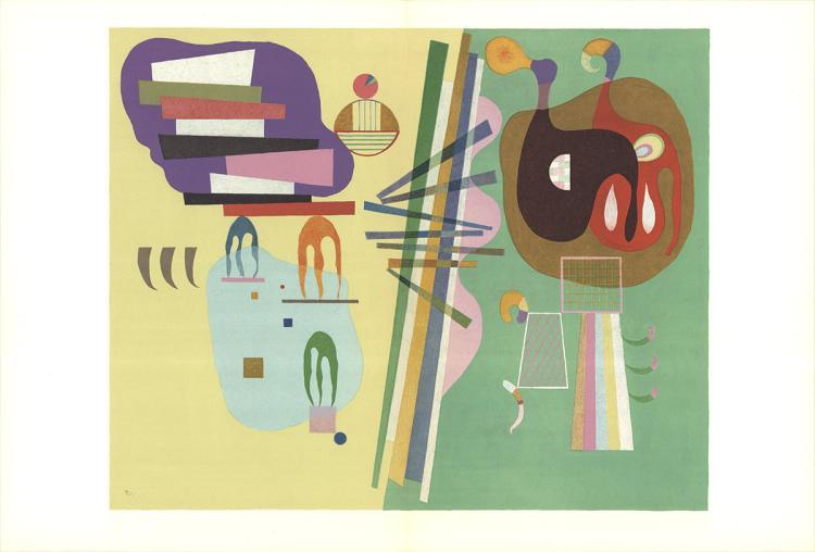 Wassily Kandinsky - Parisian Period - 1969