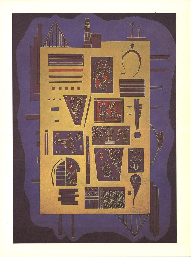 Wassily Kandinsky - Hieroglyph - 1969