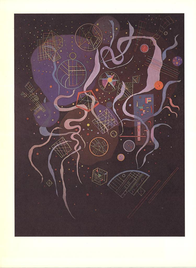 Wassily Kandinsky - Unanimite - 1969