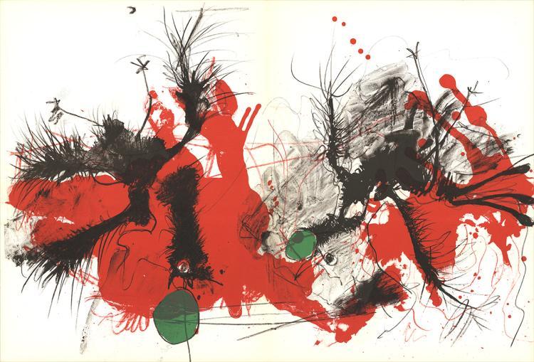 Paul Rebeyrolle - Untitled - 1969