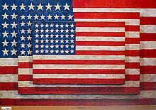 Jasper Johns - Three Flags - 2004