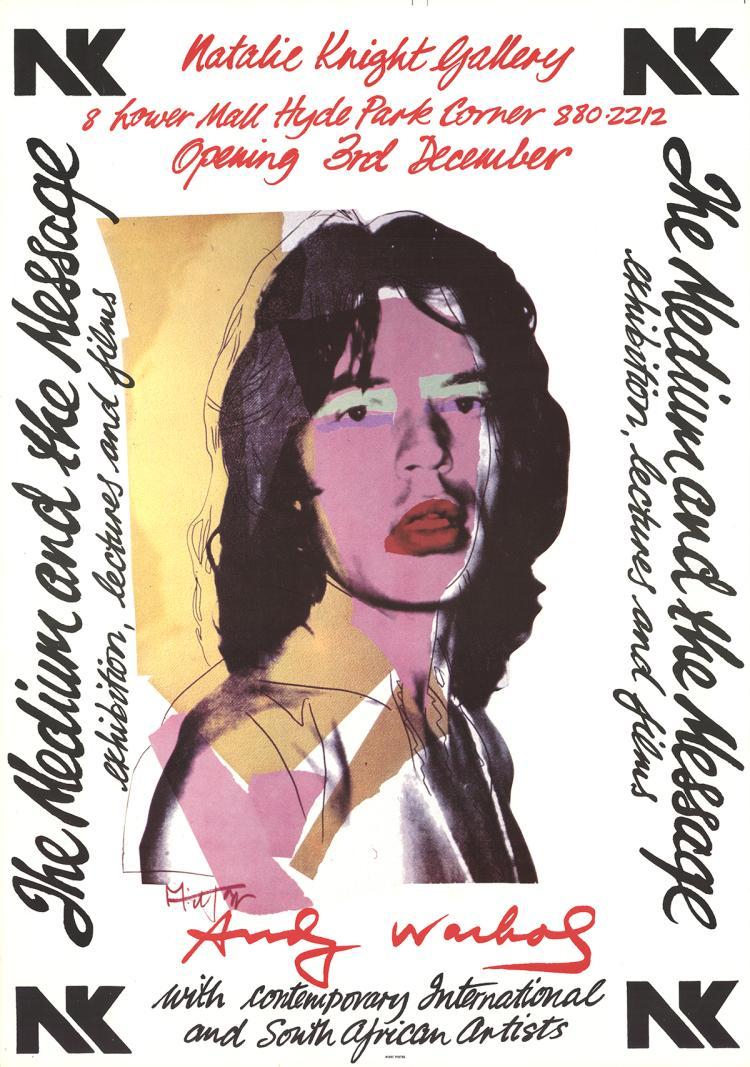 Andy Warhol - Mick Jagger - 1974