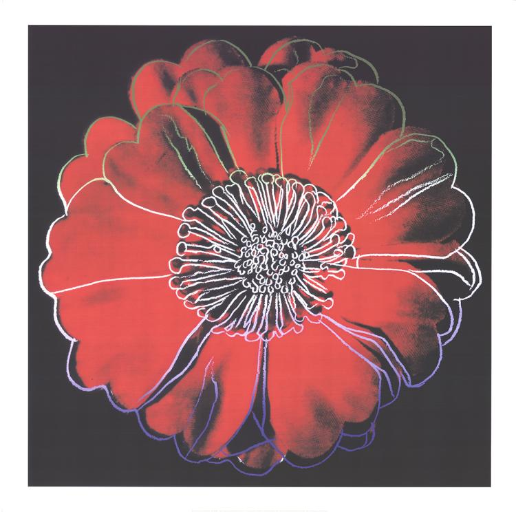 Andy Warhol - Flower for Tacoma Dome (Red) - 2003