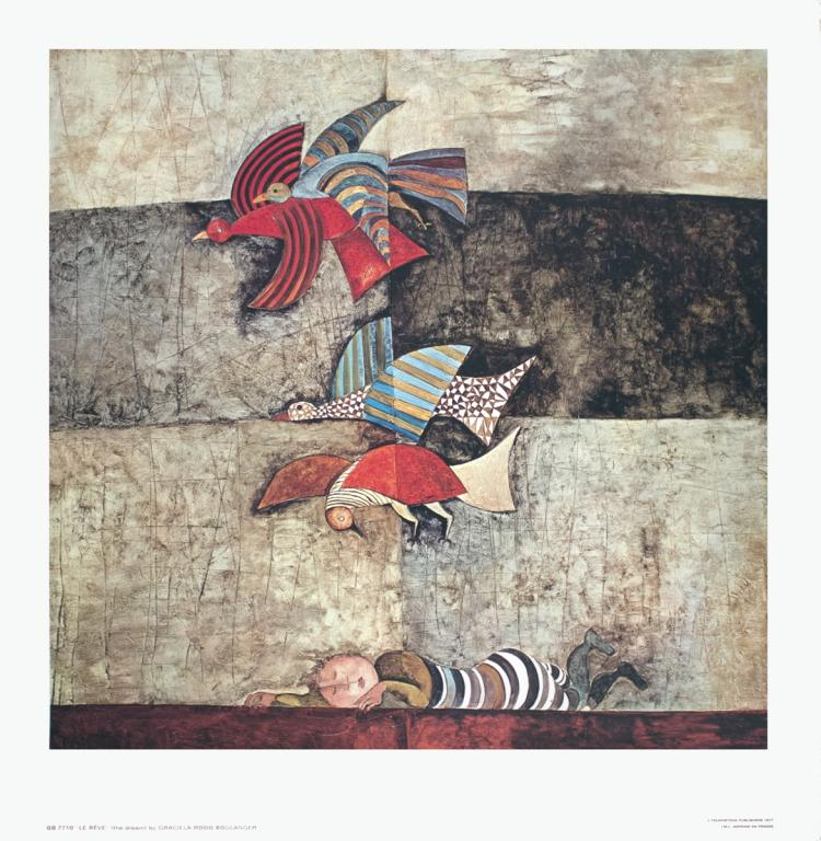 Graciela Rodo Boulanger - Le Reve - 1977
