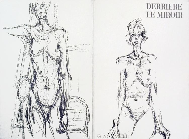 Alberto Giacometti - Derriere Le Miroir no. 127 Cover - 1961