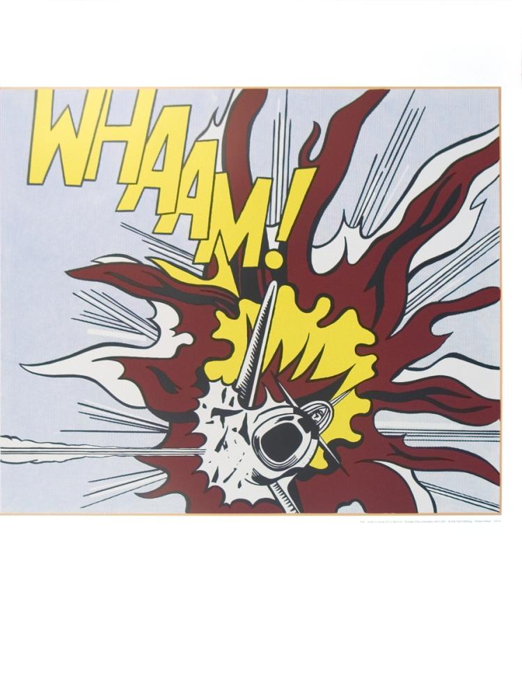 Roy Lichtenstein - Whaam B - 2007