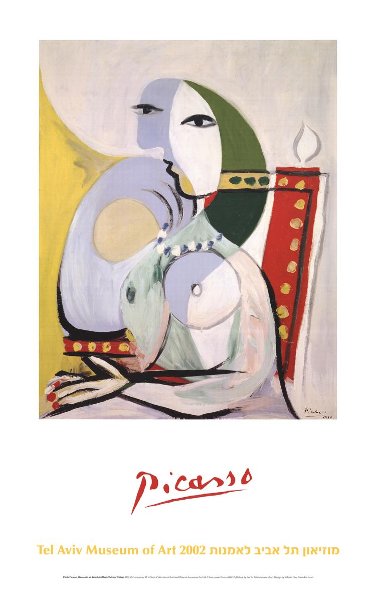 Pablo Picasso - Woman in an Armchair - 2002