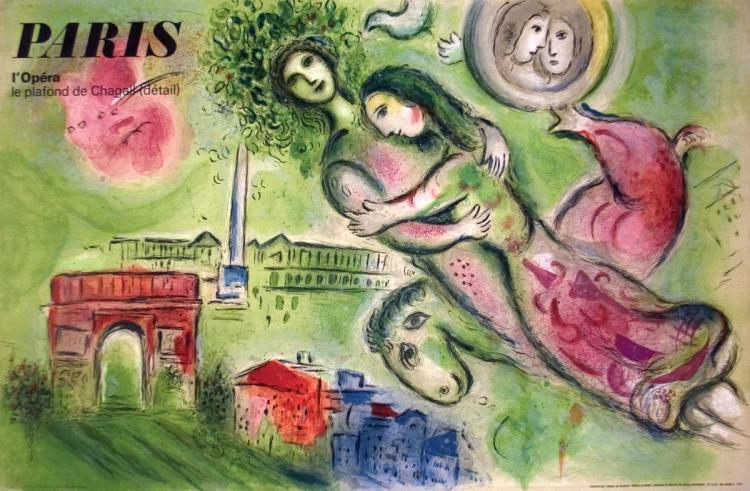 Marc Chagall - Romeo and Juliette - 1964