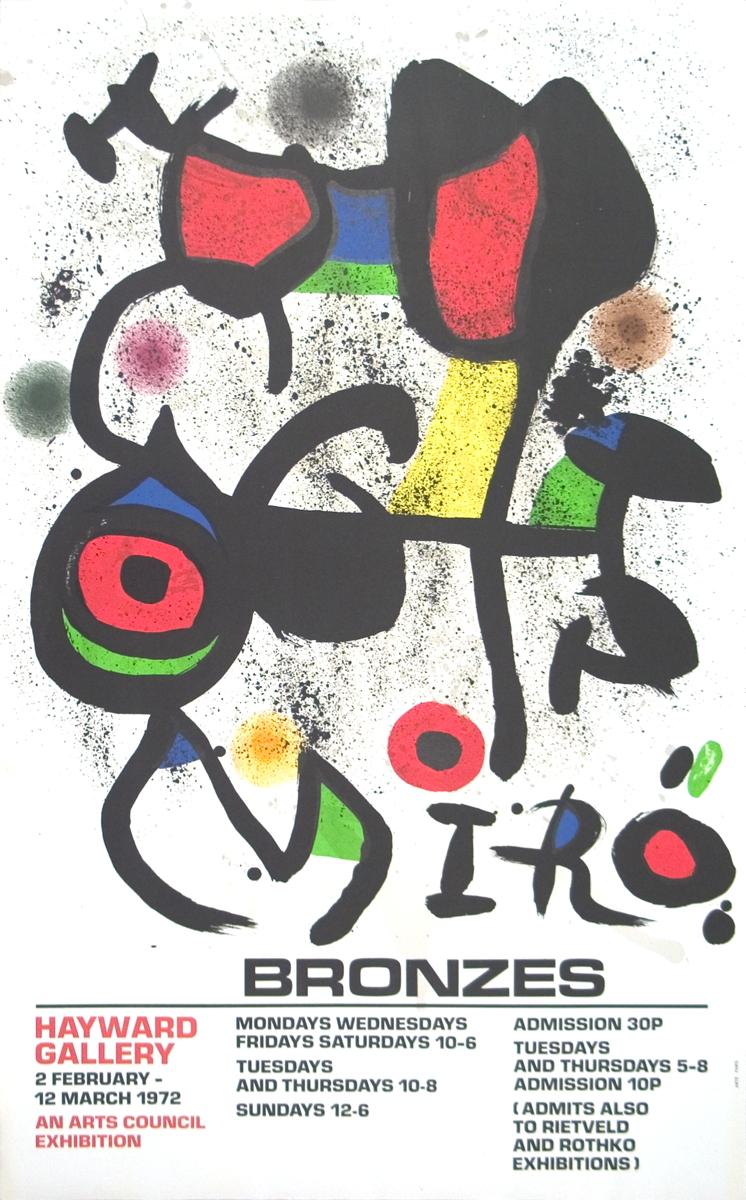 Joan Miro - Bronzes - 1972