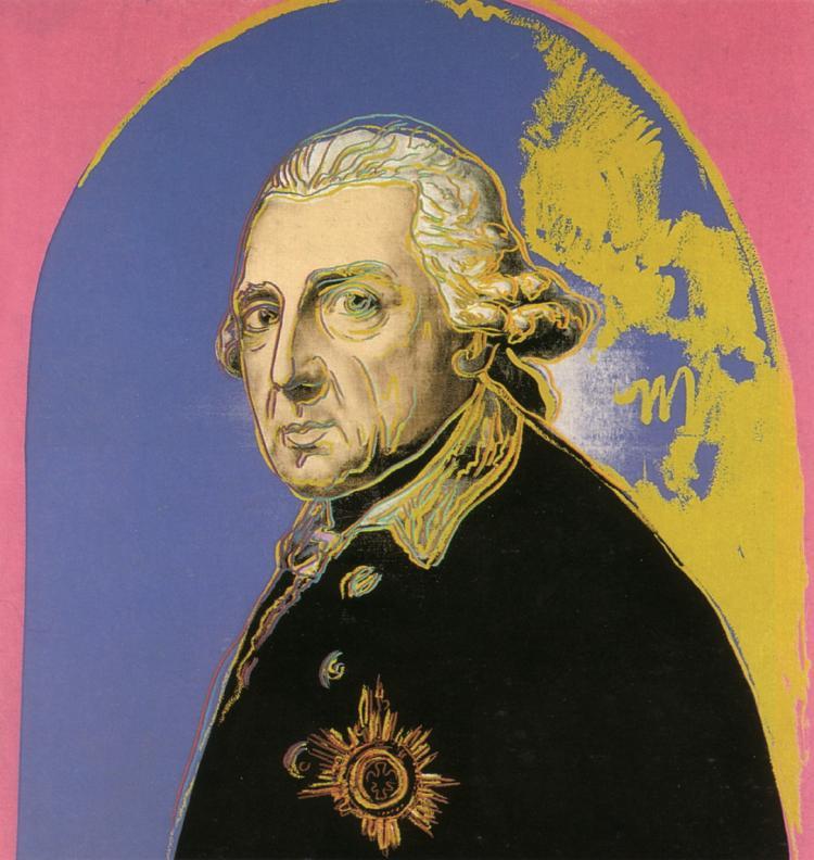 Andy Warhol - Friedrich der Grosse (sm) - 2000