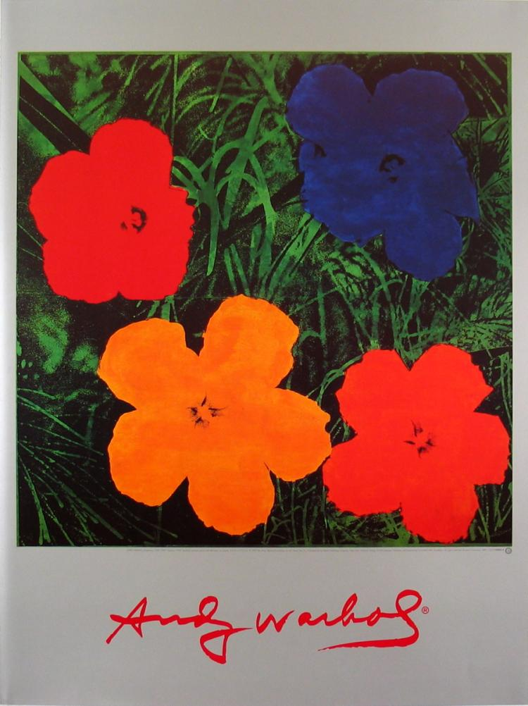 Andy Warhol - Flowers (1964) - 2000
