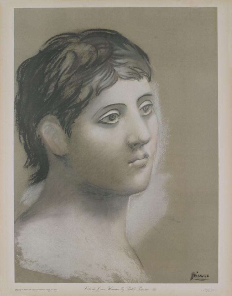 Pablo Picasso - Tete de Jeune Homme - 1948