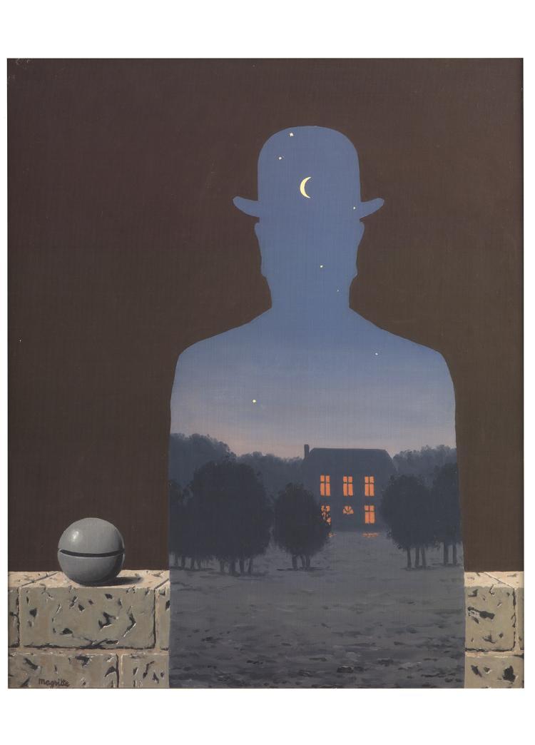 Rene Magritte - L'Heureux Donateur