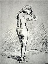 Jean Francois Millet - Donna Che Si Togue La Camilia - 1851
