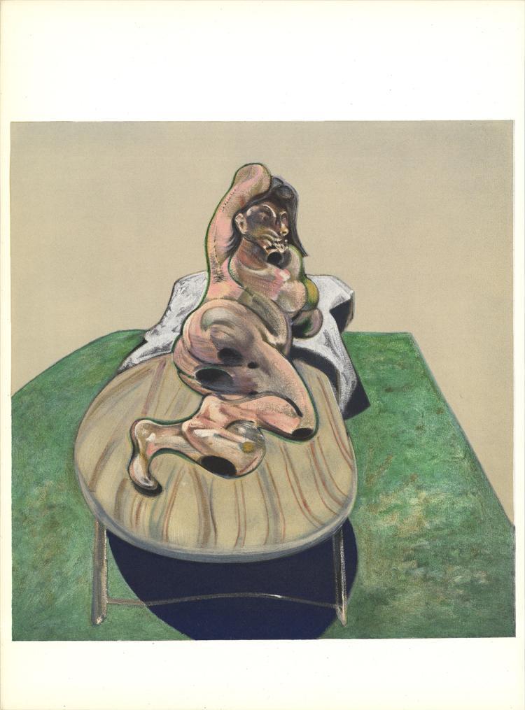 Francis Bacon - Henrietta Moraes - 1966
