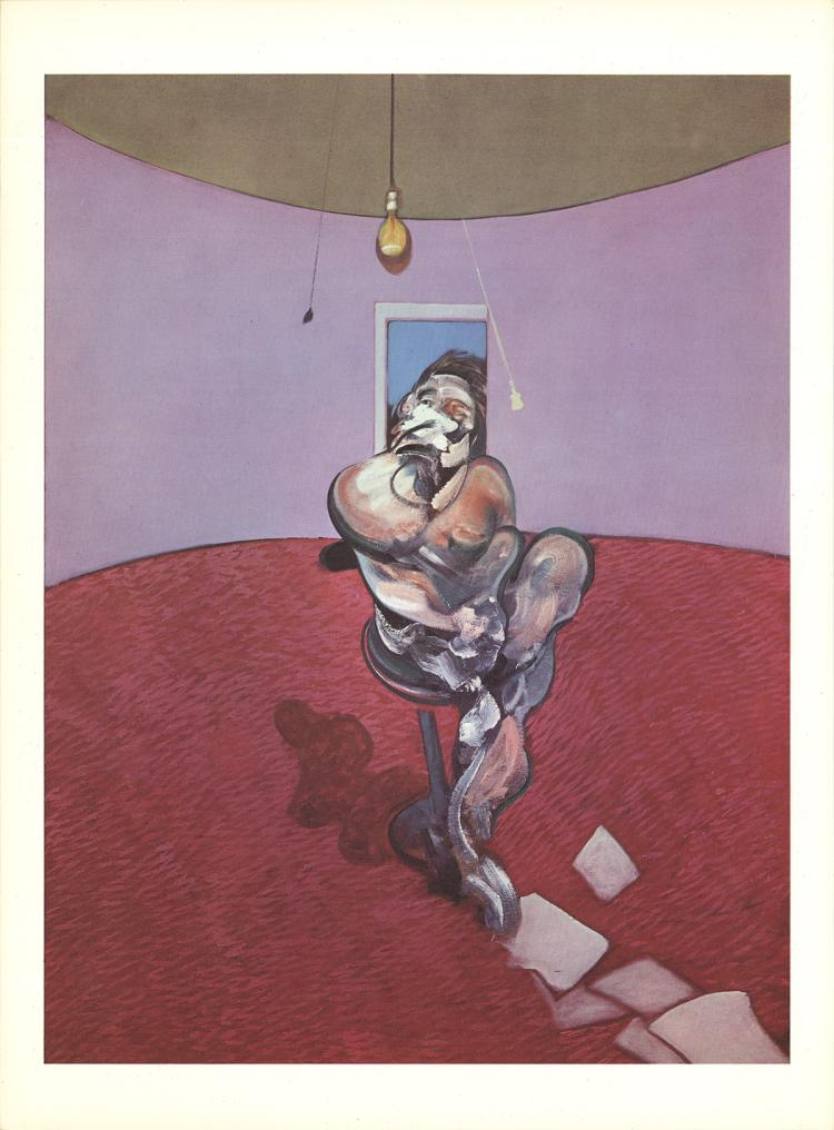 Francis Bacon - Portrait of George Dyer Talking - 1966