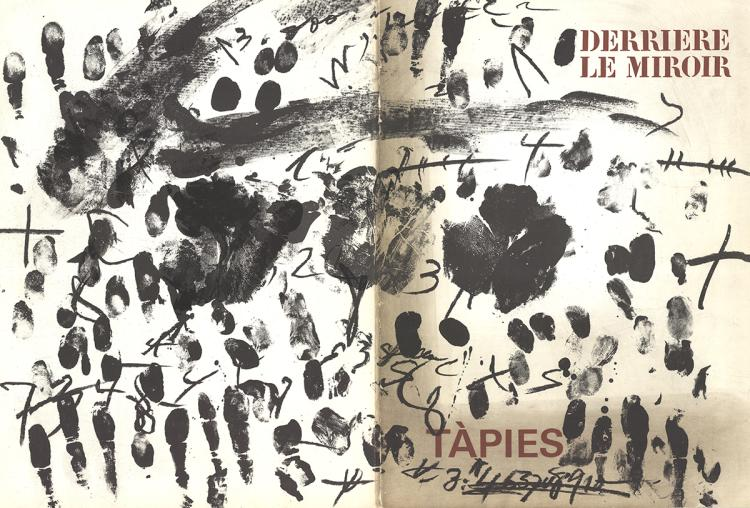 Antoni Tapies - DLM No. 175 Cover - 1968