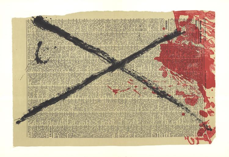 Antoni Tapies - DLM No. 175 Pages 4,5 - 1968