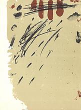 Antoni Tapies - DLM No. 175 Page 10 - 1968