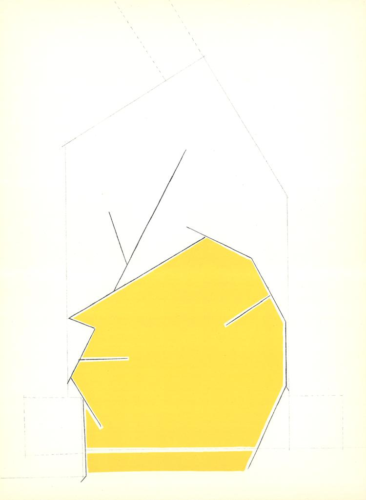 Pablo Palazuelo - DLM No. 184 Page 3 - 1970