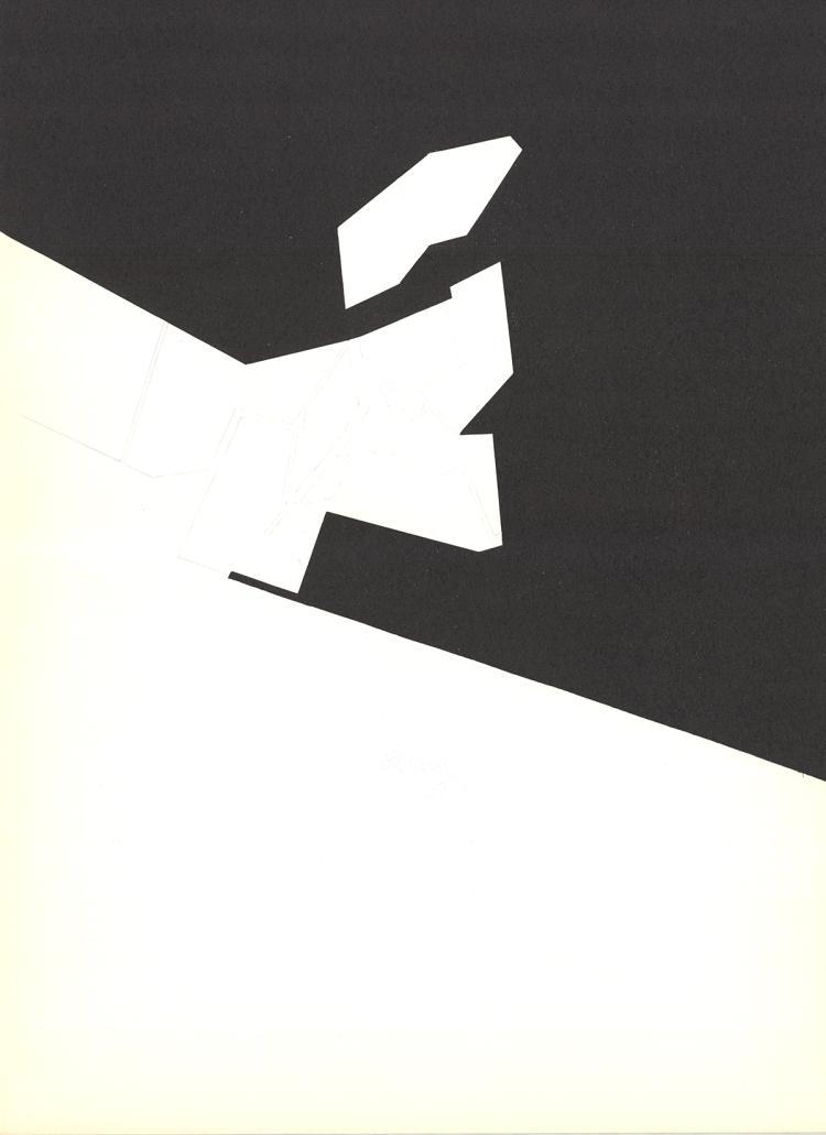 Pablo Palazuelo - DLM No. 184 Page 8 - 1970